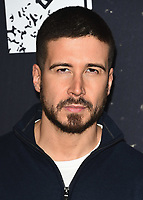 "WEST HOLLYWOOD, CA - MARCH 29:  Vinny Guadagnino at the ""Jersey Shore Family Vacation"" Global Premiere at HYDE Sunset: Kitchen + Cocktails on March 29, 2018 in West Hollywood, California. (Photo by Scott KirklandPictureGroup)"