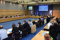 "**** NO FEE PIC***.12/04/2012.General scenes.during a conference on the ""The EU Directive on Victims Rights: Opportunities and Challenges for Ireland"" hosted by the the Irish Council for Civil Liberties (ICCL) in Dublin Castle..Photo: Gareth Chaney Collins"