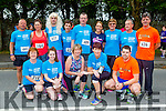 Jigsaw Kerry runners at the Killarney Women's mini marathon on Saturday front row l-r: Gina curtin, Merrissa O'callaghan, Catherine Conroy, Noreen O'Gormanb, Cathal keane. Back row: Steve Keys, Marie Hickey, Ann O'Leary, Fred O'Connell, Ann O'Riordan, Joan and George Glover and Peter Murphy