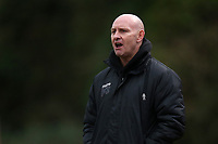 Hornchurch manager Mark Stimson during Hornchurch vs Aveley, Buildbase FA Trophy Football at Hornchurch Stadium on 11th January 2020