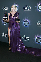 LOS ANGELES - NOV 24:  Carrie Underwood at the 47th American Music Awards - Press Room at Microsoft Theater on November 24, 2019 in Los Angeles, CA