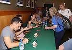 Conrad Ricamora, Ashley Park, Ruthie Ann Miles, Kelli O'Hara and Ken Watanabe from the revival of Rodgers and Hammerstein's 'The King and I'  celebrate the musical's new Broadway cast recording with a concert and CD signing at Barnes & Noble east 86th street on June 11, 2015 in New York City.