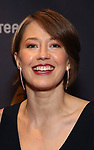 Carrie Coon during the arrivals for the 2018 Drama Desk Awards at Town Hall on June 3, 2018 in New York City.