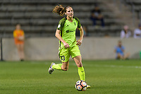 Bridgeview, IL - Wednesday August 16, 2017: Rebekah Stott during a regular season National Women's Soccer League (NWSL) match between the Chicago Red Stars and the Seattle Reign FC at Toyota Park. The Seattle Reign FC won 2-1.