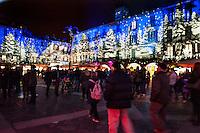 Natale 2016, illiminazione natalizia nel centro di Como