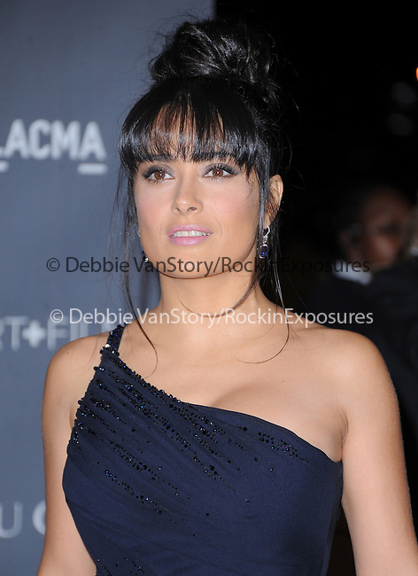 Salma Hayek at The LACMA 2012 Art + Film Gala held at LACMA in Los Angeles, California on October 27,2012                                                                   Copyright 2012  DVS / Hollywood Press Agency