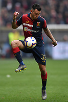 Pedro Pereira of Genoa in action during the Serie A 2018/2019 football match between Genoa CFC and Juventus FC at stadio Luigi Ferraris, Genova, March 17, 2019 <br /> Photo Andrea Staccioli / Insidefoto