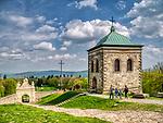 Święty Krzyż, 02-05-2019. Klasztor Misjonarzy Oblatów Maryi Niepokalanej Sanktuarium Relikwii Krzyża Świętego - dzwonnica.