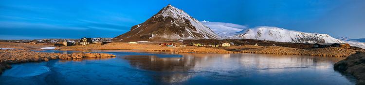 Arnarstapi Village,Snaefellsnes National Park,Iceland