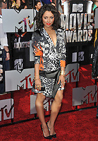 Kat Graham at the 2014 MTV Movie Awards at the Nokia Theatre LA Live.<br /> April 13, 2014  Los Angeles, CA<br /> Picture: Paul Smith / Featureflash