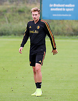 20190903 – TUBIZE , BELGIUM : Belgian Matthias Verreth is pictured during a training session of the U21 youth team of the Belgian national soccer team Red Devils , a training session as a preparation for their first game against Wales in the qualification for the European Championship round in group 9 on the road for Hungary and Slovenia in 2021, Tuesday 3rd of September 2019 at the National training grounds in Tubize , Belgium. PHOTO SPORTPIX.BE | Sevil Oktem