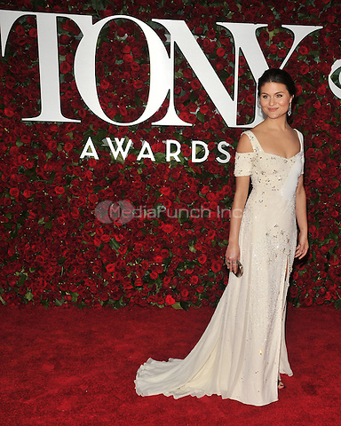 NEW YORK, NY - JUNE 12: Phillipa Soo at the 70th Annual Tony Awards at The Beacon Theatre on June 12, 2016 in New York City. Credit: John Palmer/MediaPunch