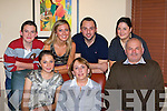 The O'Connell family, Lisaniska, Cullen celebrate the 25th Wedding anniversary of their parents Marian and Denis in Lord Kenmares restaurant Killarney on Saturday night front row l-r: Maeve, Marian, Denis. Back row: Brian, Aoife, Diarmuid and Mairead O'Connell     Copyright Kerry's Eye 2008
