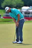 Potomac, MD - June 29, 2017: Marc Leishman putts on the 16th green during Round 1 of professional play at the Quicken Loans National Tournament at TPC Potomac at Avenel Farm in Potomac, MD, June 29, 2017.  (Photo by Don Baxter/Media Images International)