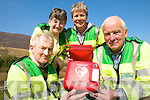 LIFESAVING: Members of the Kells First Responder group who are looking for new recruits, l-r: Pat Kavanagh, Ca?it Coffey, Anne Boland and Frank O'Leary.