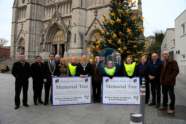 at the Launch tree of remberance in West Street<br /> Picture: Fran Caffrey www.newsfile.ie