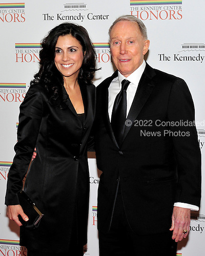 "James V. ""Jim"" Kimsey, co-founder, CEO, and first chairman of America Online and Majida Mourad arrive for the formal Artist's Dinner honoring the recipients of the 2011 Kennedy Center Honors hosted by United States Secretary of State Hillary Rodham Clinton at the U.S. Department of State in Washington, D.C. on Saturday, December 3, 2011. The 2011 honorees are actress Meryl Streep, singer Neil Diamond, actress Barbara Cook, musician Yo-Yo Ma, and musician Sonny Rollins..Credit: Ron Sachs / CNP"
