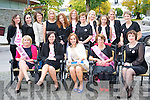 Aoife McCarthy, Firies, pictured with Mary O'Connor, Joanne Fleming, Joan Coffey, Sheila O'Riordan, Claire O'Connor, Margaret O'Connor, Marion Casey, Ann ANgland, Jacinta Tyndall, Larraine Grifin, Eileen O'Brien, Farna O'Sullivan, Breda Slattery, Regina Schroeter and Lesley Barlow as she celebrated her hen night on Saturday night, leaving Killarney for Kenmare for the night. ........