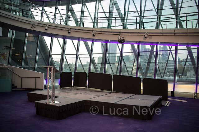 London, 06-07/05/2016. The morning after the London Mayoral Election, press began to congregate on the ninth floor of City Hall to report on the results and the official announcement of the new Mayor of London. At 15:21, the press team of City Hall announced the results by constituency. At just gone 17:30, the press videographers and photographers were escorted downstairs to the Chamber (second floor) to wait for the official final announcement. The press waited, however, almost five hours for this to happen. At 22:11, the Greater London Returning Officer, Jeff Jacobs, approached the stage and presented the new Greater London Assembly members. And, finally, at 12:18 on the 7th of May (just under nine hours after the first City Hall press announcement), Mr Jacobs officially announced the new Mayor of London, Sadiq Khan for the Labour Party. An official statement (that you can find at https://londonelects.org.uk/news-centre/news-listing/election-count-delay-explained and in the PDF attached to this story) was released on the 7th of May to explain the delay - which was previously described as being due to &quot;minor discrepancies in Mayoral figures&quot;. <br /> For more information, official statements, the results of the Mayoral Election and links for the London Assembly Members Election Results please find the PDF attached at the beginning of the story.<br />    <br /> London Mayoral Election 2016 Results:<br /> (Sources London Elects &amp; Wikipedia)<br /> https://www.londonelects.org.uk/sites/default/files/Part%201%20Election%20of%20the%20London%20Mayor.pdf <br /> https://en.wikipedia.org/wiki/London_mayoral_election,_2016<br /> <br /> London Assembly Members Election 2016 Results:<br /> (Sources London Elects &amp; Wikipedia)<br /> https://www.londonelects.org.uk/sites/default/files/London-wide%20Assembly%20Member%20results%202016.pdf<br /> https://en.wikipedia.org/wiki/London_Assembly_election,_2016