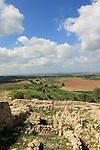 Israel, Shephelah, Archaeological excavations in Tel Zafit, identified as Biblical Philistine city Gath