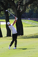 Gregory Havret (FRA) during the final day of the  Andalucía Masters at Club de Golf Valderrama, Sotogrande, Spain. .Picture Denise Cleary www.golffile.ie