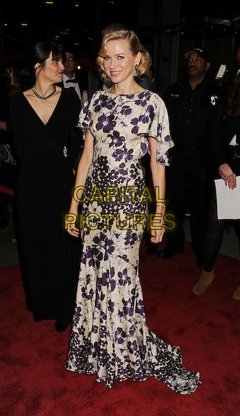 """Naomi Watts.""""The Impossible"""" Los Angeles Premiere held at Arclight Cinemas, Hollywood, California, USA..December 10th, 2012.full length white purple floral print dress fishtail .CAP/ROT/TM.©Tony Michaels/Roth Stock/Capital Pictures"""
