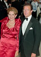 ARCHIVE: LONDON, UK:  c. 1989: Roger Moore & wife Luisa Mattioli.<br /> File photo © Paul Smith/Featureflash