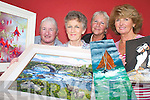 Kate Landers, Mary Pat OSullivan Sylvia Harvey and Anne Mangan from the Laune Art group who are their forth annual summer exhibition in the Killorglin CYMS from the 19th-28th July.