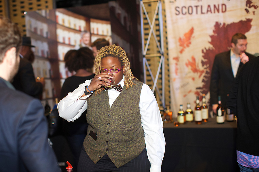 New York, NY - March 25, 2016: Harlem Whiskey Renaissance at MIST Harlem.<br /> <br /> CREDIT: Clay Williams.<br /> <br /> &copy; Clay Williams / claywilliamsphoto.com