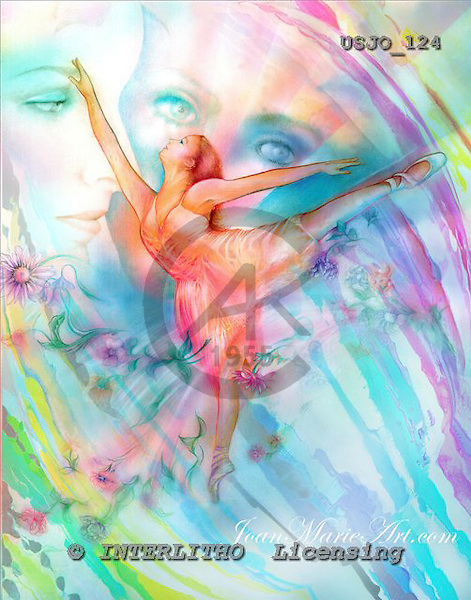 Marie, MODERN, MODERNO, paintings+++++WBallerina,USJO124,#N# Joan Marie woman