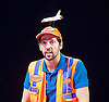 Ugly Lies The Bone <br /> by Lindsey Ferrentino<br /> at The Lyttelton Theatre, London, Great Britain <br /> Press photocall <br /> 28th February 2017 <br /> <br /> <br /> <br /> Ralf Little as Stevie <br /> <br /> <br /> <br /> Photograph by Elliott Franks <br /> Image licensed to Elliott Franks Photography Services