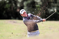 Mathew McLean. Jennian Homes Charles Tour Autex Muriwai Open, Muriwai Links Golf Course, Muriwai, Auckland, New Zealand,Thursday 12 April 2018. Photo: Simon Watts/www.bwmedia.co.nz