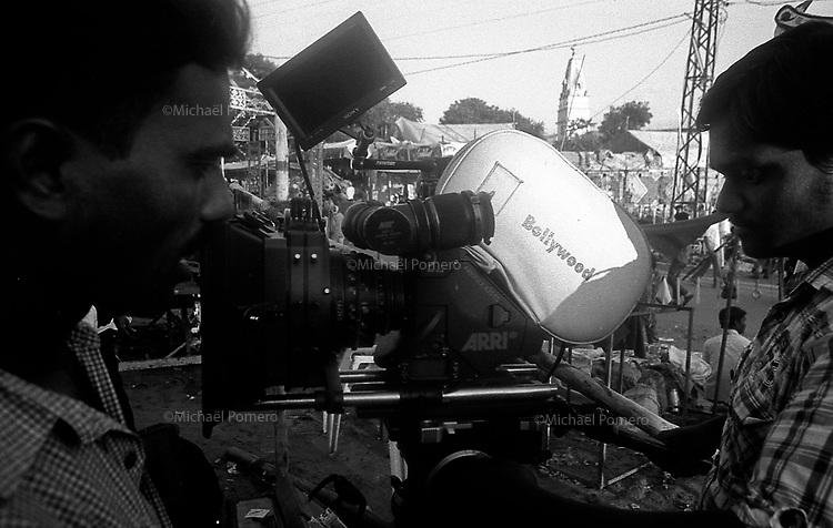 11.2010 Pushkar (Rajasthan)<br /> <br /> Shooting during the fair.<br /> <br /> Tournage pendant la foire.