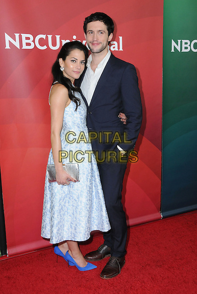17 January 2017 - Pasadena, California - Inbar Lavi, Rob Heaps. 2017 NBCUniversal Winter Press Tour held at the Langham Huntington Hotel. <br /> CAP/ADM/BT<br /> &copy;BT/ADM/Capital Pictures