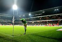FUSSBALL   1. BUNDESLIGA    SAISON 2012/2013    14. Spieltag   SV Werder Bremen - Bayer 04 Leverkusen                28.11.2012 Aaron Hunt (SV Werder Bremen) fuehrt einen Eckball aus