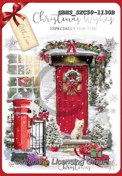 John, CHRISTMAS LANDSCAPES, WEIHNACHTEN WINTERLANDSCHAFTEN, NAVIDAD PAISAJES DE INVIERNO, paintings+++++,GBHSSXC50-1130B,#xl#