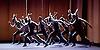 Balletboyz<br /> Life<br /> at Sadler&rsquo;s Wells, London, Great Britain <br /> Rabbit by  Pontus Lidberg <br /> rehearsal <br /> 20th April 2016 <br /> <br /> Andrea Carruciu<br /> Bradley Waller<br /> Edward Pearce<br /> Flatten Esmieu<br /> Harry Price<br /> Jordan Robson<br /> Matthew Rees <br /> Matthew Sanford<br /> Simone Donati <br /> <br /> Photograph by Elliott Franks <br /> Image licensed to Elliott Franks Photography Services