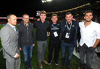 Team NZ America's Cup team during the 2017 DHL Lions Series rugby union 3rd test match between the NZ All Blacks and British & Irish Lions at Eden Park in Auckland, New Zealand on Saturday, 8 July 2017. Photo: Dave Lintott / lintottphoto.co.nz