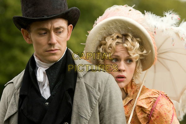 JJ Feild, Georgia King<br /> in Austenland (2013) <br /> *Filmstill - Editorial Use Only*<br /> CAP/NFS<br /> Image supplied by Capital Pictures