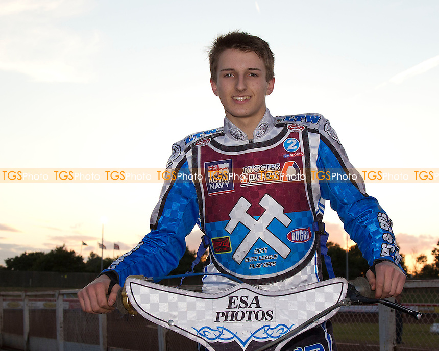 Jack Kingston - Lakeside Hammers vs Belle Vue Aces - Sky Sports Elite League Speedway at Arena Essex Raceway, Purfleet - 03/08/12 - MANDATORY CREDIT: Ray Lawrence/TGSPHOTO - Self billing applies where appropriate - 0845 094 6026 - contact@tgsphoto.co.uk - NO UNPAID USE.