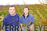 John Lawlor on his farm in Abbeydorney with Declan Lawless of SWS Forestry Services   Copyright Kerry's Eye 2008