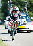 SITTARD, NETHERLANDS - AUGUST 16: Danilo Hondo of Germany riding for Radioshack-Leopard competes during stage 5 of the Eneco Tour 2013, a 13km individual time trial from Sittard to Geleen, on August 16, 2013 in Sittard, Netherlands. (Photo by Dirk Markgraf/www.265-images.com)