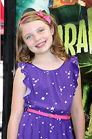 """LOS ANGELES - AUG 5:  Madison Moellers arrives at the """"ParaNorman"""" Premiere at Universal CityWalk on August 5, 2012 in Universal City, CA ©mpi27/MediaPunch Inc"""