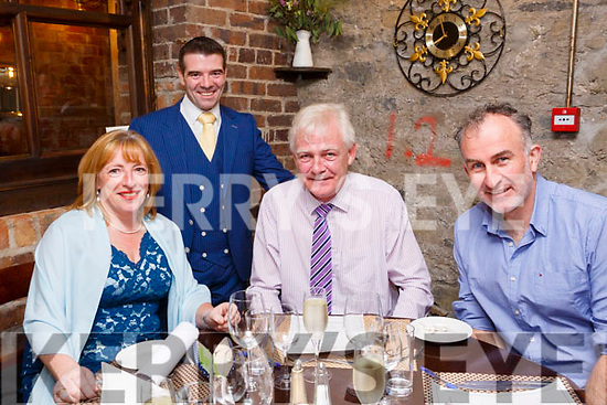 CROI Restaurant, The Square celebrity Chef fundraiser in aid of Donal Walsh #livelife foundation  part of Culture Night on Friday Judges Melanie Harty, Stephen Wallace and Finbar Walsh with Kevin O'Connor, Croi