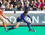 ROTTERDAM - Caitlin van Sickle (USA)   tijdens de Pro League hockeywedstrijd dames, Nederland-USA  (7-1) .   COPYRIGHT  KOEN SUYK