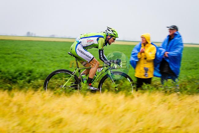 Jean Marc Marino, Cannondale, Tour de France, Stage 5: Ypres > Arenberg Porte du Hainaut, UCI WorldTour, 2.UWT, Wallers, France, 9th July 2014, Photo by Thomas van Bracht / Peloton Photos
