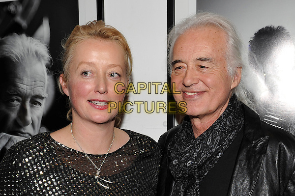LONDON, ENGLAND - NOVEMBER 25: Scarlet Page and Jimmy Page attending the 'Resonators' book launch at Proud Gallery, Camden on November 25, 2015 in London, England.<br /> CAP/MAR<br /> &copy; Martin Harris/Capital Pictures