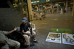 Remi OCHLIK/IP3 PRESS - On august, 27, 2011 In Tripoli - Rebel fighters taking rest at the airport