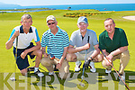 GOLF: Competing in the Grand Hotel Cup at Tralee Golf Club on Sunday l-r: Michael Daly, John Paul Enright, Eamon O'Mahony and Peter O'Driscoll.