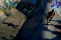 Skate Park, Bondi beach, Sydney Australia.<br />